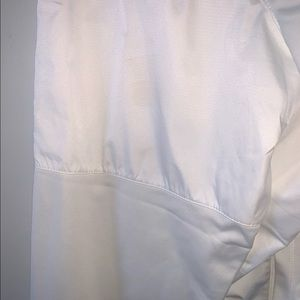 All White Nike Jacket Size L